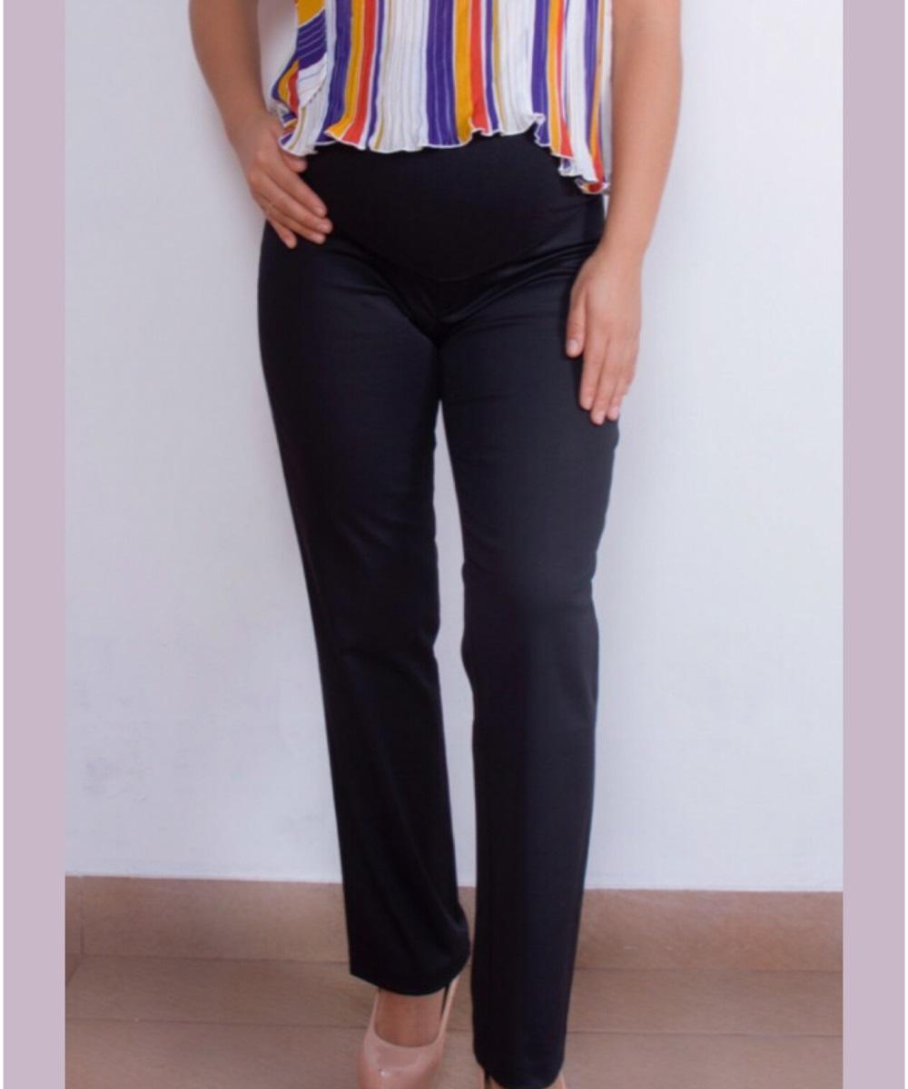Pantalon Materno Zara Negro Mama A La Mode