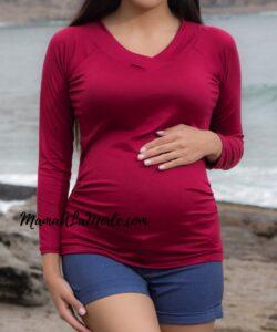 Polo para embarazadas Cristal