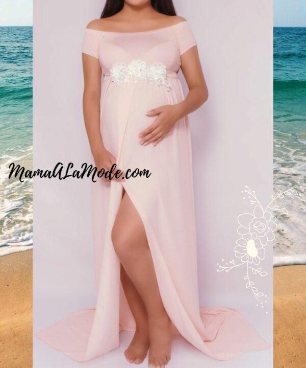 Vestido para sesion de fotos de embarazadas