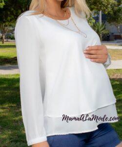 Blusa para embarazadas Zara