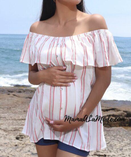 Blusa para embarazadas Catalina
