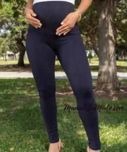 Leggings para embarazadas corte americano