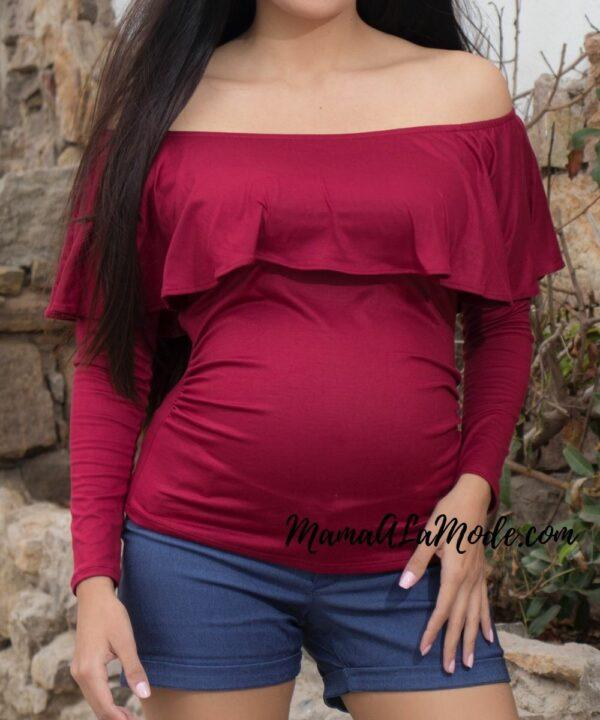 Polo para embarazadas Calletana
