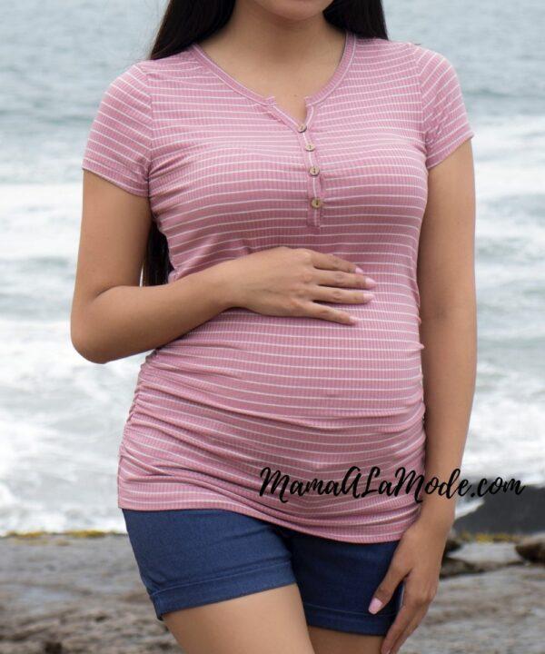 Polo para embarazadas Lariza