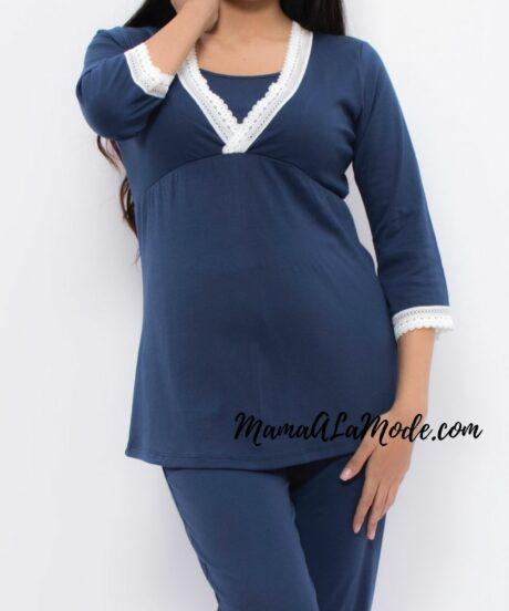 Pijama de embarazo y lactancia Luna