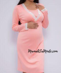 Pijama de embarazo y lactancia Venus