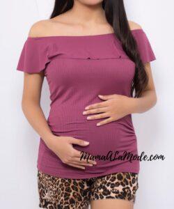 Polo para embarazadas Zuly