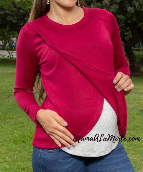 Chompa para embarazadas Amber