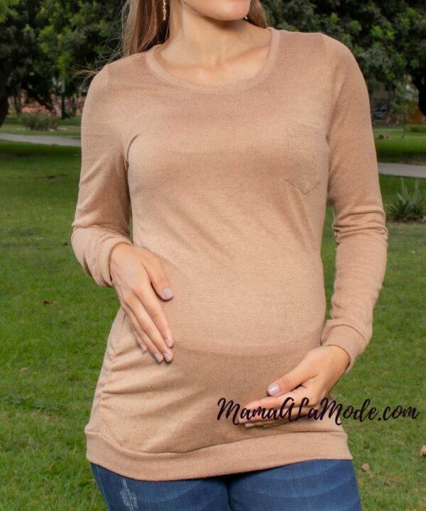 Chompa para embarazadas Corina