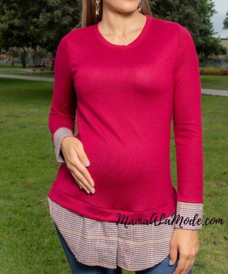 Chompa para embarazadas Karly