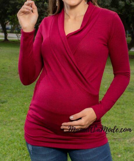 Chompa para embarazadas Yary