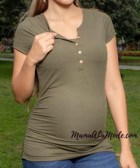 Polo para embarazadas Topacio