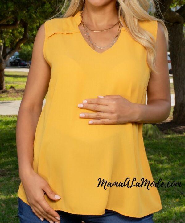 Blusa para embarazadas Almendra