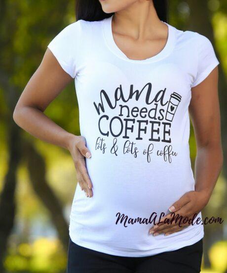 Polo para embarazadas Coffee