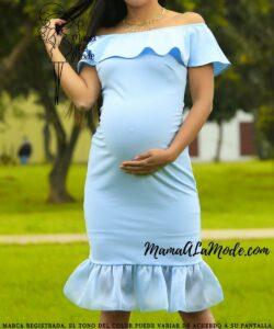 Vestido para embarazadas Dior
